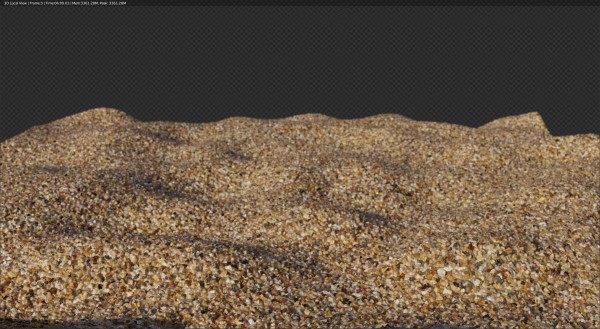 procedural cycles sand shader