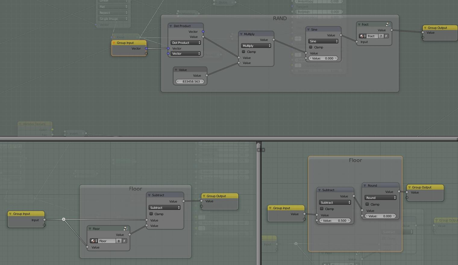 random generator in cycles